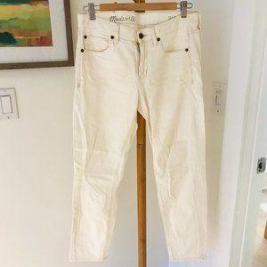 Madewell Cream-Coloured jeans